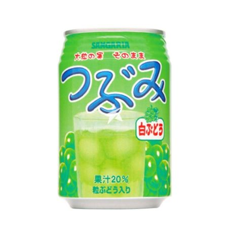 Sangaria White Grape Drink (Tsubumi) 280g