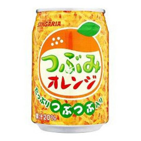 Sangaria Tsubumi Orange Drink with Bits 280ml