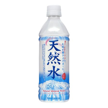 Sangaria Tennen-Sui Natural Mineral Water 500ml