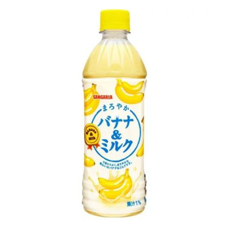 Sangaria Banana & Milk Drink 500ml