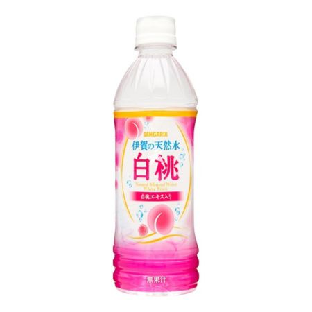 Sangaria Natural Mineral Water White Peach Flavour 500ml