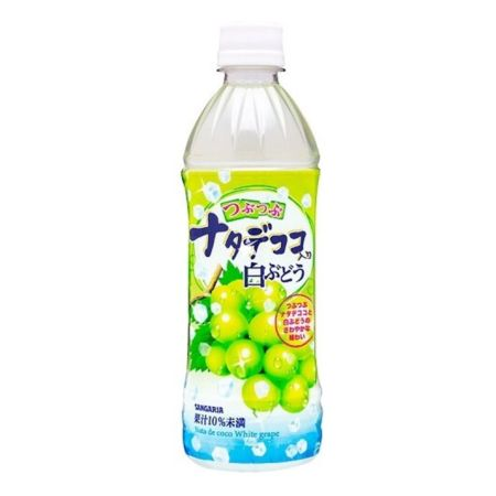 Sangaria Nata De Coco White Grape Drink 500ml