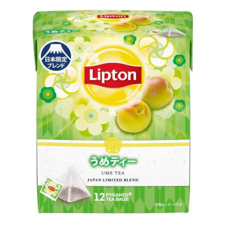 Lipton Ume Tea Japan Limited Blend (1.6g*12 Tea Bags) 19.2g