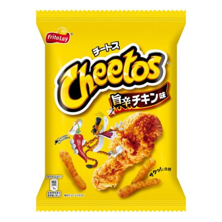 Fritolay Cheetos Spicy Hot Chicken Flavour 75g