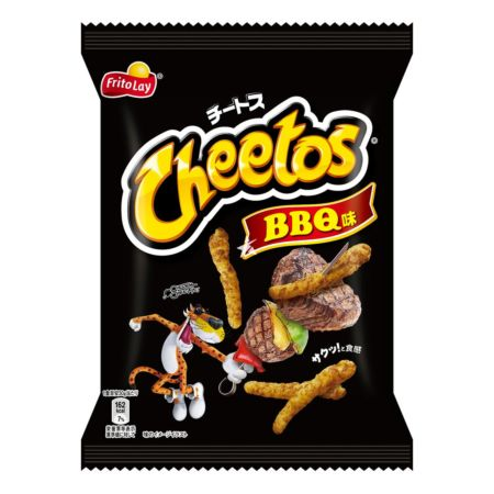 Fritolay Cheetos BBQ Flavour 75g