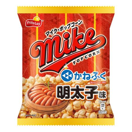 Fritolay Mike Pop Corn Mentaiko Flavour 40g