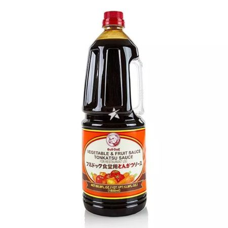 Bull-Dog Vegetable & Fruit Sauce Tonkatsu Sauce (For Catering) 1.8L