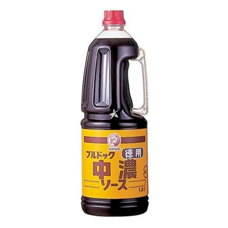 Bull-Dog Vegetable Fruit Sauce (Semi-Sweet) (Chuno Sauce) 1.8L