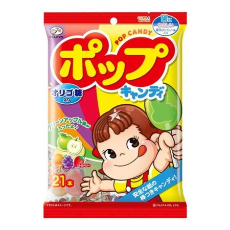 Fujiya Pop Candy 21 Pieces 126g