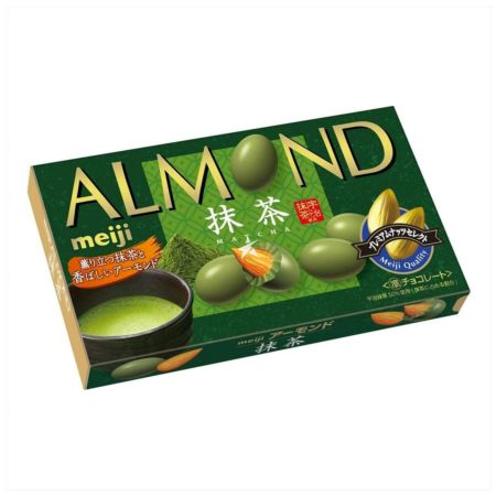 Meiji Almond Matcha Chocolate 79g
