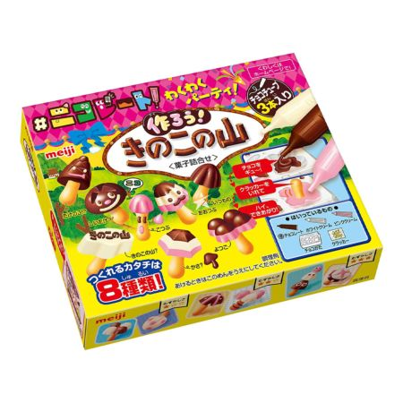 Meiji Kinoko no Yama DIY Chocolate Biscuit 36g