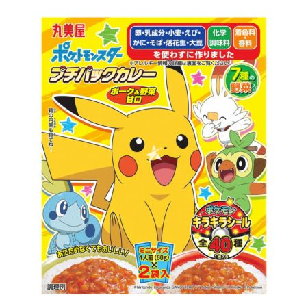 Marumiya Pokemon Instant Curry (Retort Pouch) Pork & Vegetable (Mild) 120g