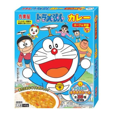 Marumiya Doraemon Instant Curry (Retort Pouch) Pork & Vegetable (Mild) 145g