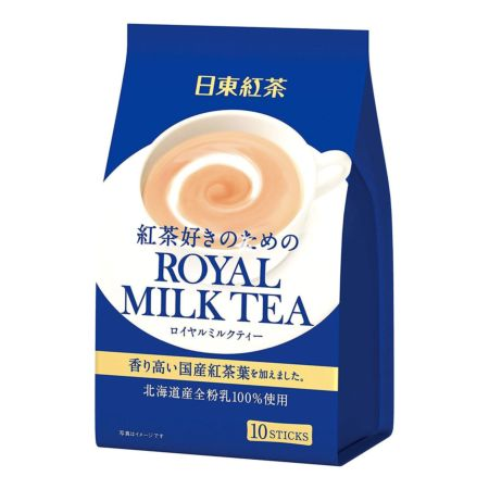 Nittoh Royal Milk Tea 10 Sticks 140g