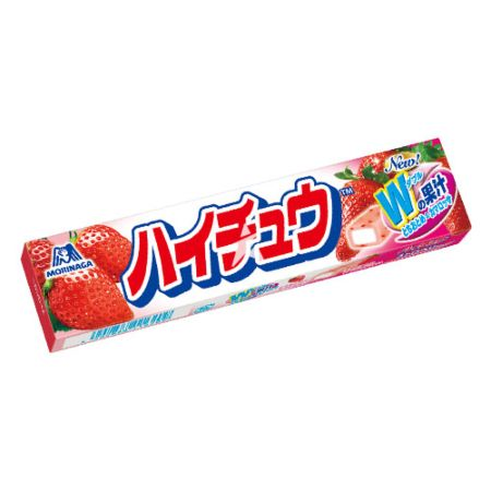 Morinaga Hi-Chew Soft Candy Strawberry Flavour 57g