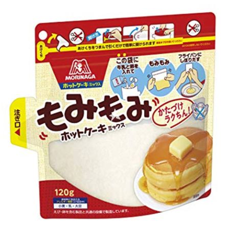 Morinaga Hot Cake Pancake Mix Disposable Pack 120g