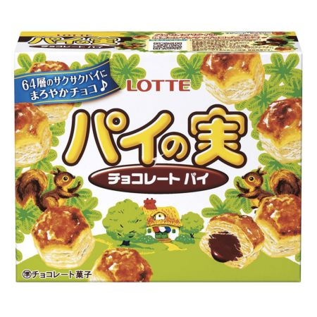 Lotte Pie with Chocolate Filling 73g