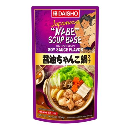 Daisho Chanko Hot Pot Soup Soy Sauce Flavour 750g