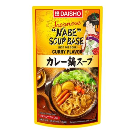 Daisho Japanese Nabe Soup Base Curry Flavour (3-4 Servings) 750g