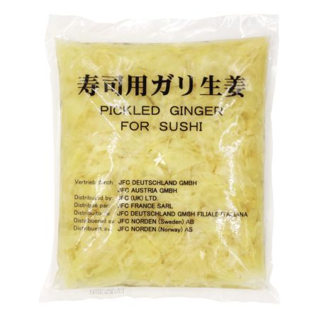 LTF Pickled Ginger for Sushi (White) Drained Weight 1kg Net Weight 1.5kg