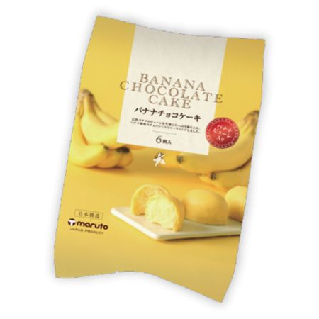 Maruto Banana Chocolaate Cake (29g*6 Pieces) 174g