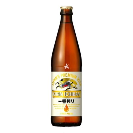 Kirin Ichiban Japan's Premium Beer First Press 500ml 4.6% Alc./Vol