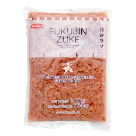 Yutaka 福神漬菜 Drained Weight 750g Net Weight 1.0kg