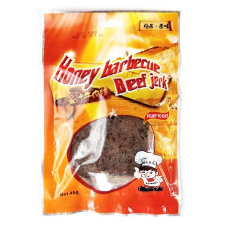 Advance Food Honey Barbecue Cooked Beef Jerky 45g