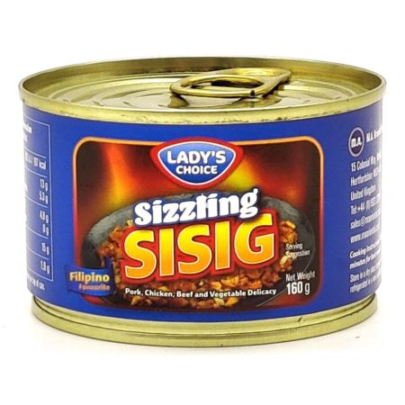 Lady's Choice Sizzling Sisig Filipino Flavour 160g
