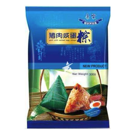 Honor Zongzi - Pork with Salted Egg Fillings (2 Servings) 300g