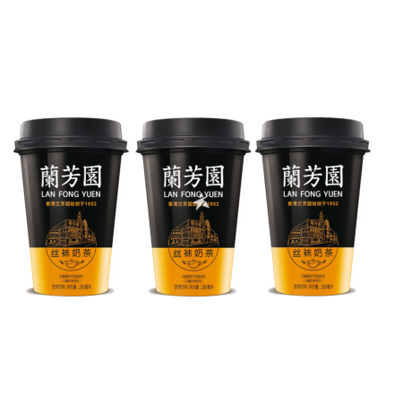 Lan Fong Yuen Hong Kong Style Milk Tea 280ml (Pack of 3)
