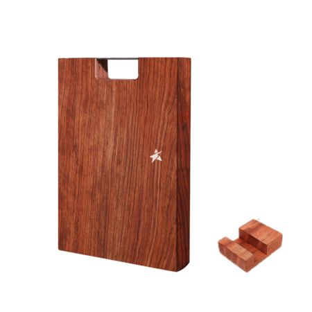 Rosewood Chopping Board (30*20*2.5cm) with Stand