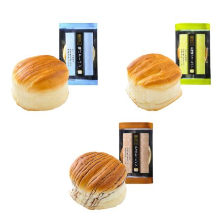 Tokyo Bread 70g (Assorted Set of 3 Flavours)