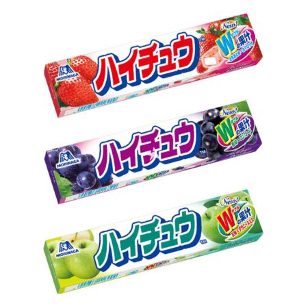 Morinaga Hi-Chew Soft Candy 57g (Assorted Set of 3 Flavours)