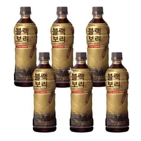 Hitejinro Roasted Dark Barley Tea 520ml (Set of 6)