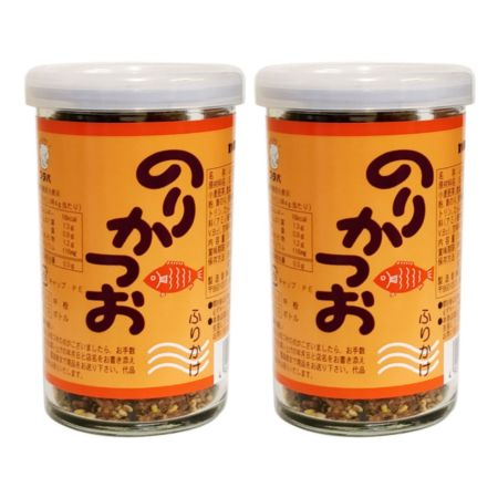 Futaba Furikake Rice Seasoning - Nori Katsuo (Seaweed and Fish) Flavour 50g (Pack of 2)