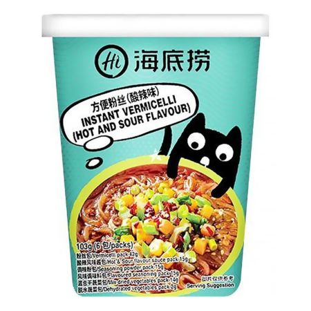 Haidilao Instant Vermicelli Hot and Sour Flavour 118g