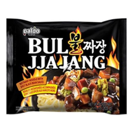 Paldo Bul Jjajang - Instant Noodle with Spicy Black Bean Sauce 203g