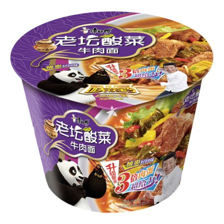 Master Kong Instant Noodle - Beef with Sauerkraut Flavour (Bowl) 119g