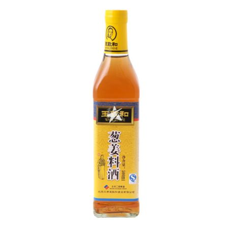 Wangzhihe Cooking Wine with Spring Onion and Ginger 500ml