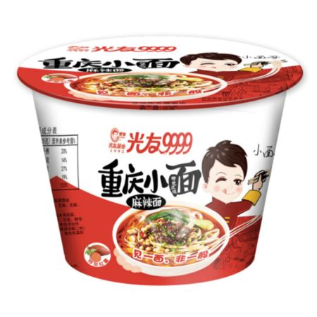 Guang You Chong Qing Instant Noodle Spicy Hot Flavour (Bowl) 105g