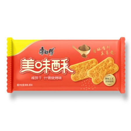 Master Kong Salty Crisp Biscuit BBQ Flavour 85g