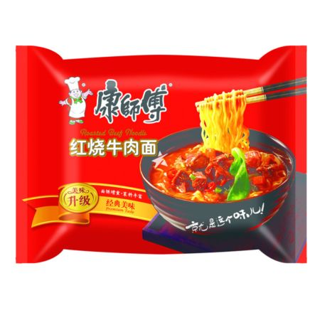 Master Kong Instant Noodle Roasted Beef Flavour 100g