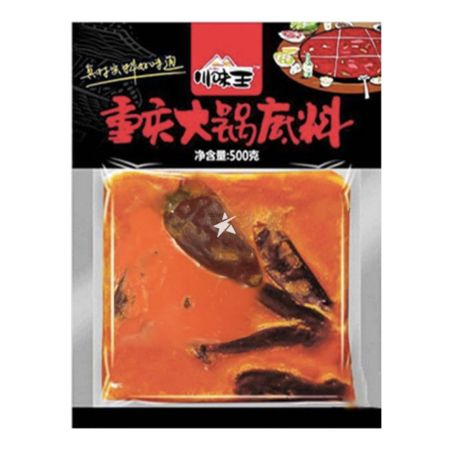Chuan Wei Wang Hot & Spicy Hot Pot Seasoning 500g