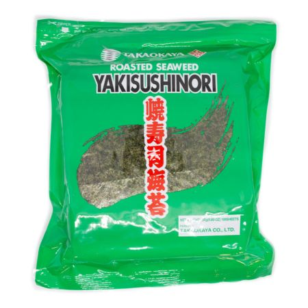 Takaokaya Roasted Seaweed Yakisushinori C Class Full Size (100 Sheets) 250g