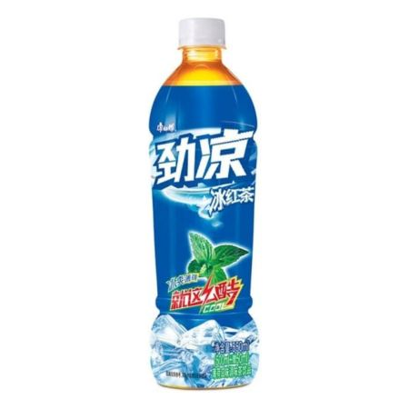 Master Kong Ice Red Tea (with Mint) 500ml