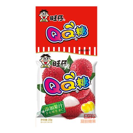 Want Want QQ Gummy Candy Lychee 20g