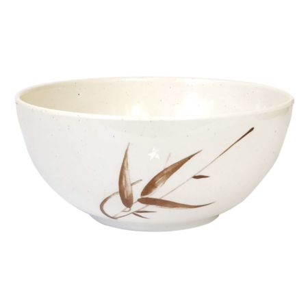 Bamboo Pattern Melamine Plastic Japanese Style Soup Bowl 164*74mm [ZZU502D]