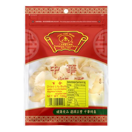 Zheng Feng Dried Lily Pulb 100g