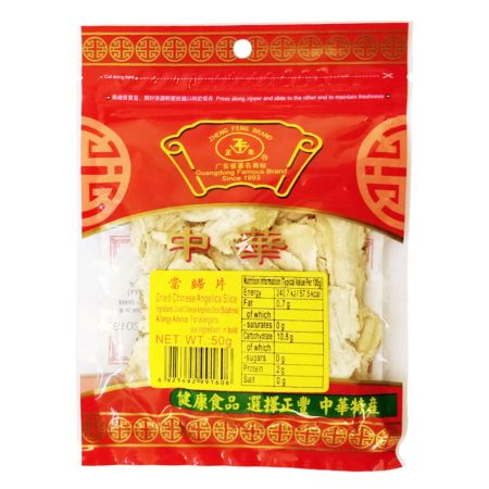 Zheng Feng Dried Chinese Angelica Slice 50g